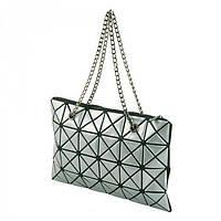 Сумка с серебристым геометрическим декором  Traum арт. 7241-23