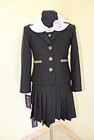 Пиджак школьный детский  №244 0367+7543, фото 1
