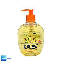 Жидкое косметическое мыло с дозатором, глицерином Ванильная орхидея, Olis, 300 мл