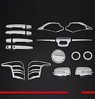 Fiat Fullback 2016+ гг. Комплект накладок (хром ABS)