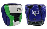 Шлем боксерский с полной защитой Everlast PU MA-011-PU