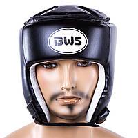 Шлем боксерский закрытый PVC BWS BWXDX450 черный (реплика)