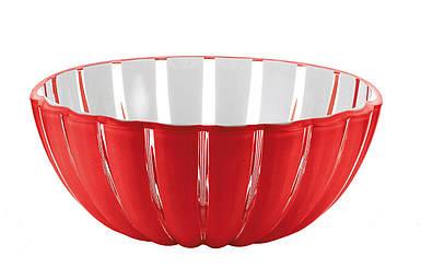 Чаша Grace 25 см красная