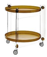 Шведский Стол на колесиках Massoni mocha