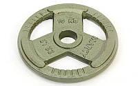 Блины (диски) стальные с тройным хватом окрашенные d-52мм TA-8026-10