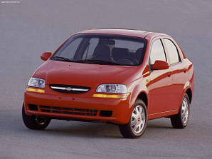 Шевроле Авео / Chevrolet Aveo Т200 (Седан, Хетчбек) (2002-2008)