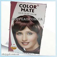 Индийская крем-краска для волос. Махагон. Алоэ вера,С,Е.