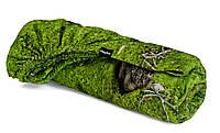 Простыня на резинке мох 90 x 200 см