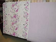 Обои на стену, винил на флизелине, цветы сиреневый, 1,06*10м, ограниченное количество, фото 3