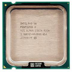 Процессор Intel Pentium D 925 3.00GHz/4M/800 s775, tray