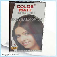 Индийская крем-краска для волос.Коричневый. Алоэ вера,С,Е.