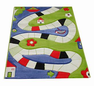 Ковер Soft Play Доска для Игры 100 x 150 см синий
