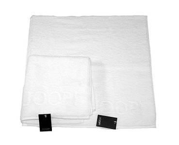 Полотенце 150x80 см Plain Uni белый