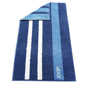 Полотенце 150x80 см New Орнамент, Полосы синий