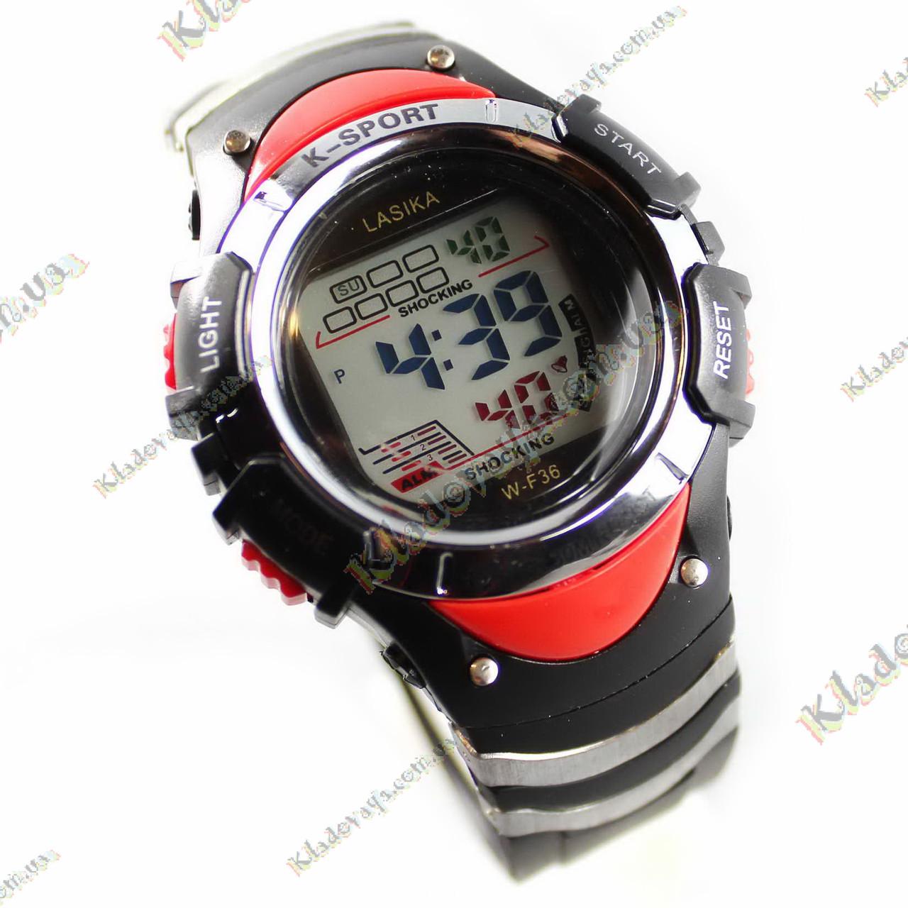 Водонепроницаемые часы Lasika RED 3 атм, фото 1
