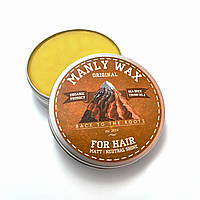 "Воск для волос MANLY WAX ""original"", 100 мл"