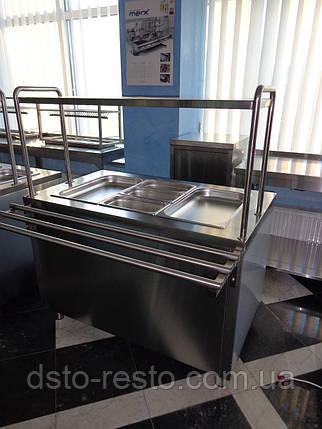 Холодильный элемент для салатов на 3 емкости GN 1/1, фото 2