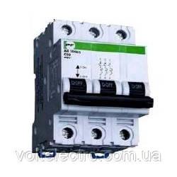 Автоматический выключатель АВ20003РC 25A6кА