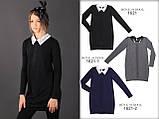 Красивая школьная форма, черное школьное платье МОНЕ р-р 122,128,134,140,146,152,158,164, фото 3