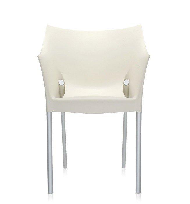 Кресло Dr. No białożółte