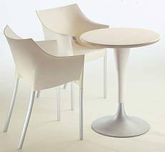 Кресло Dr. No białożółte, фото 3