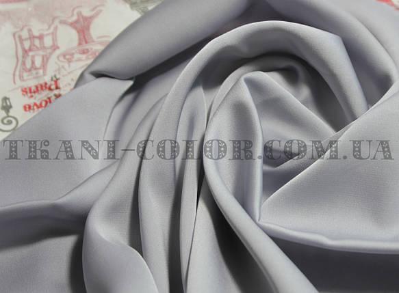 Шелк армани светло-серый, фото 2