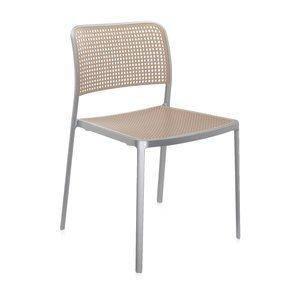 Стул Одри алюминиевая рама синяя сиденье, фото 2