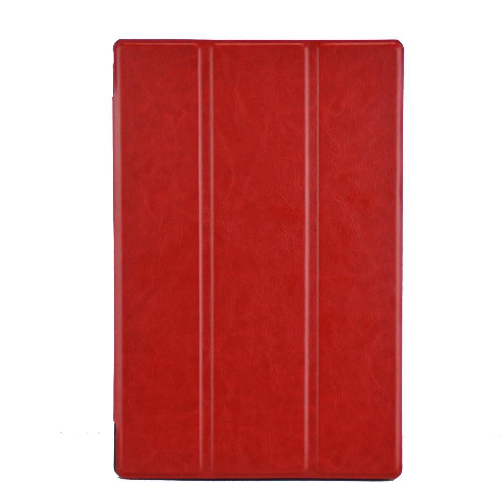 Чехол Crazy Horse Smart для Sony Xperia Z2 Tablet красный