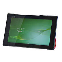 Чехол Crazy Horse Smart для Sony Xperia Z2 Tablet красный, фото 2
