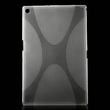 Чехол Накладка Силикон TPU для Sony Xperia Z2 Tablet серый
