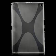 Чехол Накладка Силикон TPU для Sony Xperia Z2 Tablet серый, фото 2
