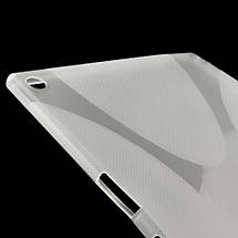 Чехол Накладка Силикон TPU для Sony Xperia Z2 Tablet серый, фото 3
