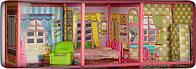 Домик-вилла для кукол и пупсов(Домик Барби)