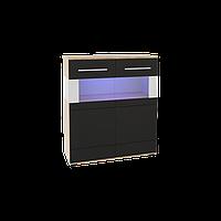 Шкаф витринный 2 д Neone 4