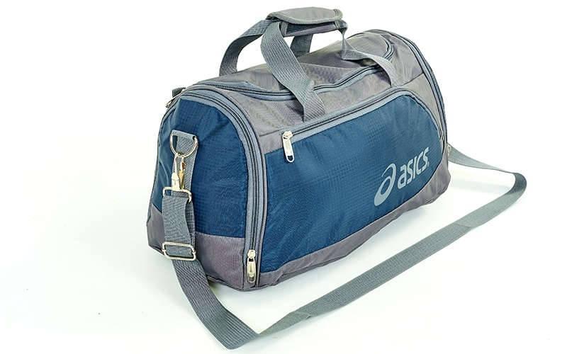 8e31cebb1454 Сумка для спортзала ASICS GA-5632 (темно-синий, реплика), цена 329 ...