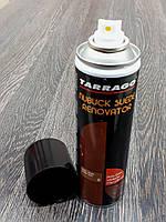Восстанавливающая спрей-краска Tarrago Nubuck Suede Renovator 250 мл цвет охра (08)