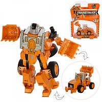 Трансформер робот+стройтехника