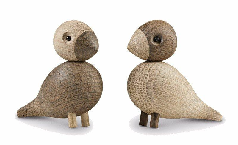 Украшение деревянный Lovebirds 2 шт.