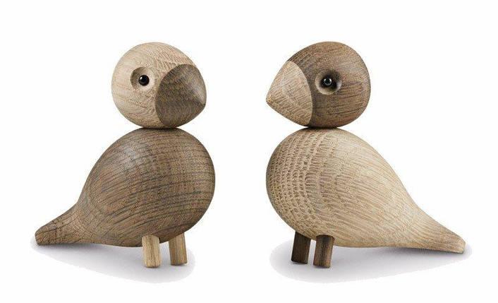Украшение деревянный Lovebirds 2 шт., фото 2