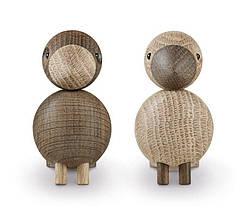 Украшение деревянный Lovebirds 2 шт., фото 3