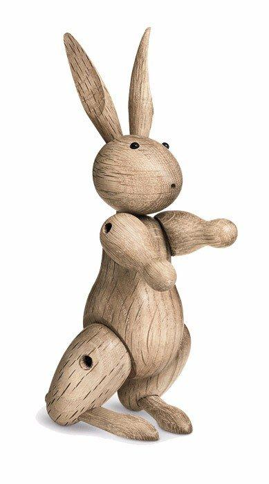 Украшение деревянный кролик