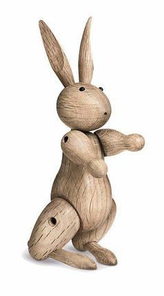 Украшение деревянный кролик, фото 2