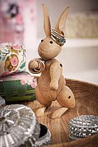 Украшение деревянный кролик, фото 3