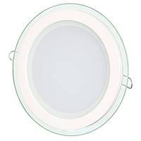 Светильник светодиодный Biom GL-R12 W 12Вт круглый белый
