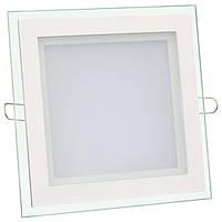 Светильник светодиодный Biom GL-S6 W 6Вт квадратный белый