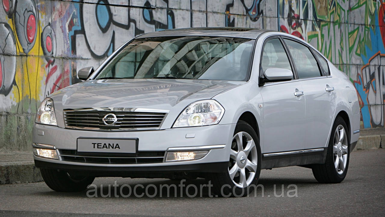 Лобовое стекло на Nissan Teana J31 (Седан) (2003-2008), Samsung SM5/SM7 (Седан) (2005-2010)