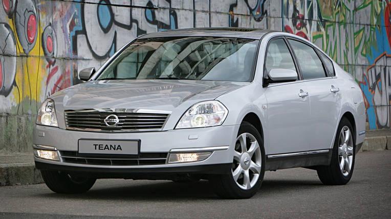 Лобовое стекло на Nissan Teana J31 (Седан) (2003-2008), Samsung SM5/SM7 (Седан) (2005-2010) , фото 2