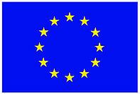Флаг ЕС . Виниловая наклейка или гибкий магнит для авто
