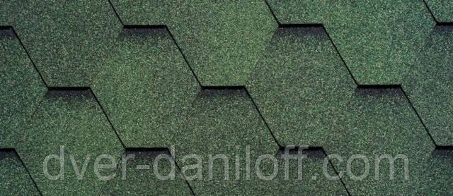 Битумная черепица RUFLEX (производство RUFLEX) - Зеленый базилик