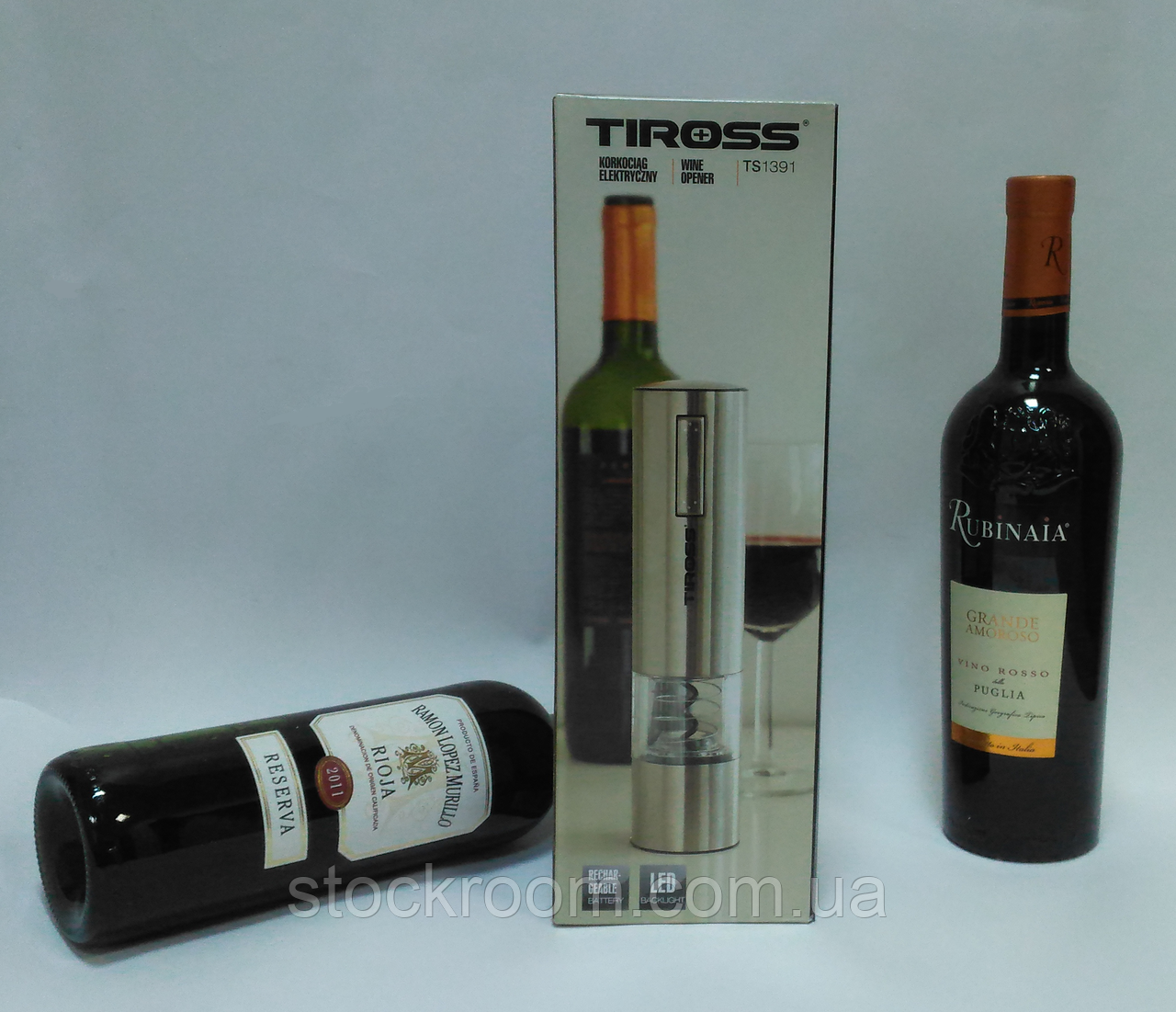 Штопор электрический Tiross TS 1391